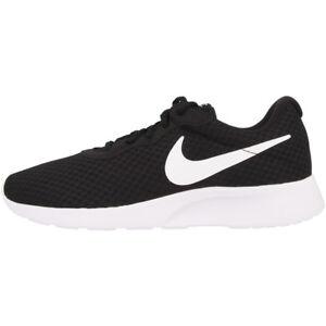 Zapatillas 812655 Nike Zapatos Ocio Tanjun Blanco Mujer Zapatillas Negro 011 XRHxqF6wT
