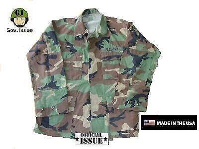 Neueste Kollektion Von Us Army Gi Bdu Feldjacke Field Jacket Jacke Vintage Woodland Camouflage Mr Freigabepreis