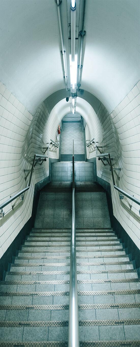 3D 3D 3D Treppen 503 Tür Mauer Wandgemälde Foto Wandaufkleber AJ WALL DE Lemon ad7dc9