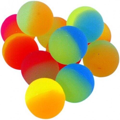Flummi 2,5 cm Neon Frost Hüpfball Springball Flummis 25 mm Springball Mitgebsel