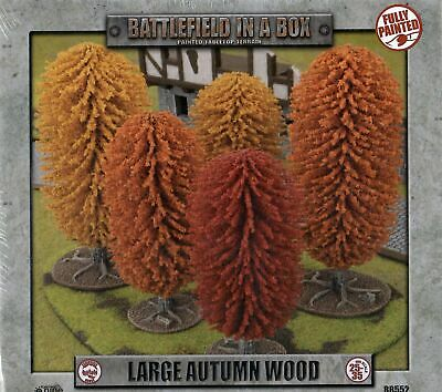 Battlefield in a Box Large Autumn Wood Terrain By Battlefront BB552