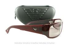 New Emporio Armani Sunglasses EA 9427/s QKE10 Burgundy Authentic