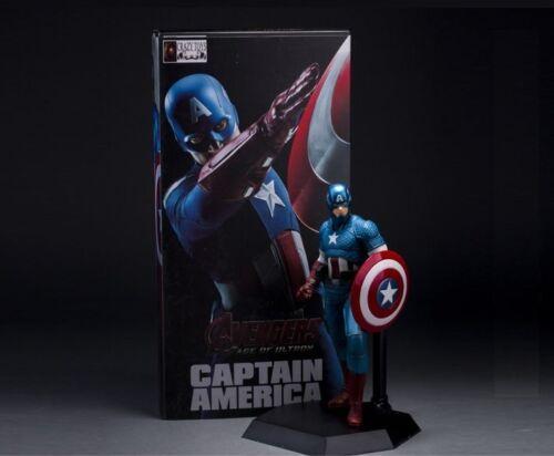 Figura Acción Capitán América MARVEL Steve Rogers Action figure 22 cm.