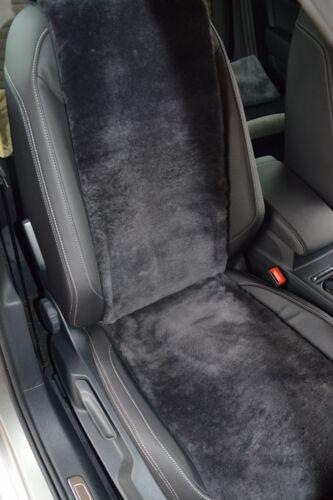 Autositz-Auflage Sitzbezug aus echtem Lammfell schiefer Breite 30 cm