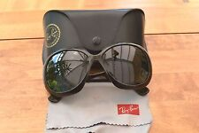 Brown Ray-Ban Jackie Ohh II Sunglasses; RB 4098; With case and cloth; RRP £125
