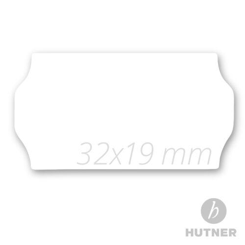 10.000 Preisetiketten Etiketten 32x19 mm weiß ablösbar