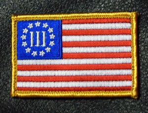3 Percenter Flag Patch