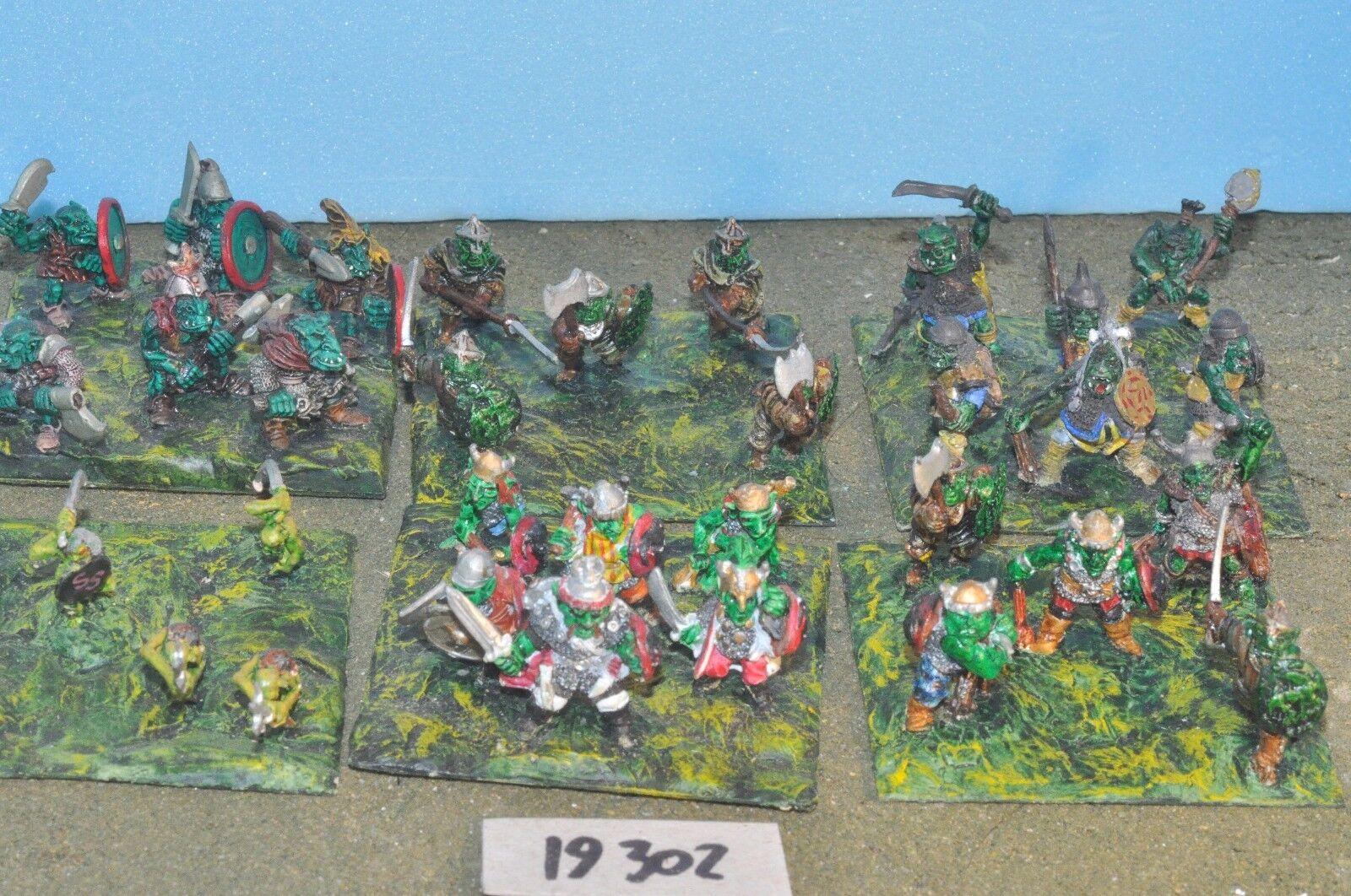 Fantasy Sigmar - Goblin Warriors 24 Metal Citadel Warhammer - (19302)