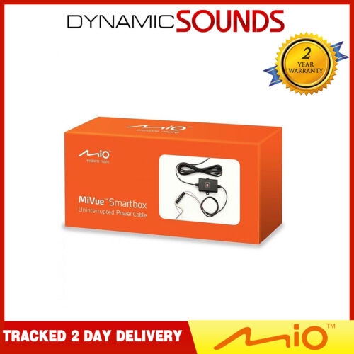Kit de cableado Caja de alimentación Mio inteligente para todos los grabadores de Cámara MiVue coche DASH Cams