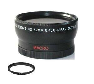 Digital Vision Wide Angle Lens for Samsung NX 16-50mm, 20mm, 30mm, 16mm Lens