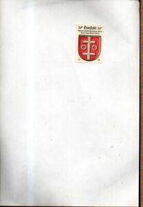 1468-39-Wappenmarke-Fraustadt-Posen-rueckseitiger-Text-nicht-lesbar