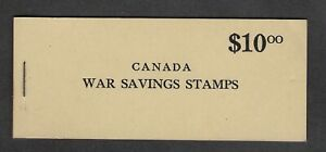 CANADA-FWS6-WAR-SAVINGS-REVENUE-COMPLETE-BOOKLET-OF-5-PANES-MNH