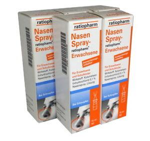 5x NASENSPRAY E Ratiopharm 15ml PZN: 8039036 (16,61€/ pro 100 ml)