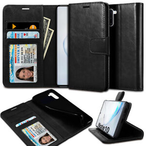 Slim-ID-Card-Holder-Flip-PU-Leather-wallet-Case-Cover-for-Galaxy-S10-S9-iPhone-X