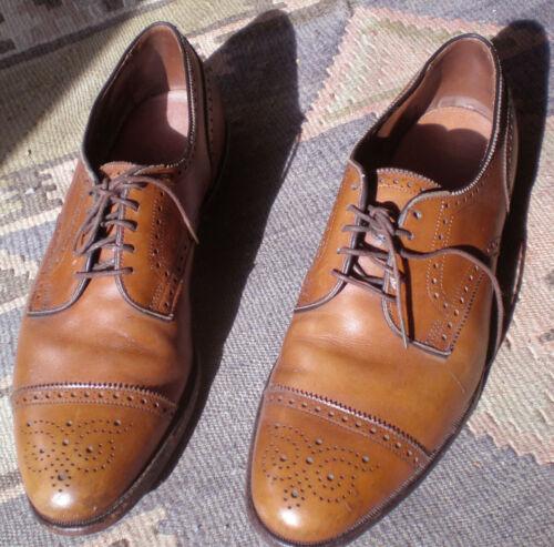 Allen-Edmond shoes, Sanford wingtip, chestnut, 10D