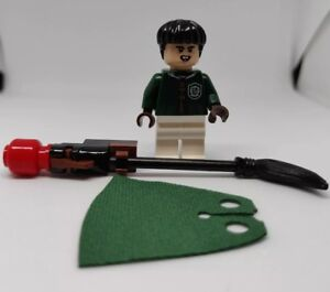 Lego Harry Potter Marcus Flint Minifigure with Broom 75956 Quidditch Match New