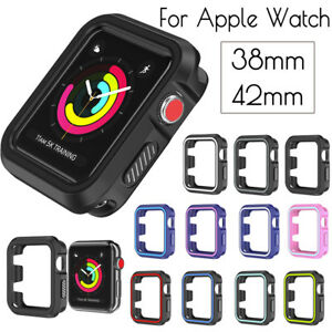 Rugged-Armor-Bumper-Protected-Case-Cover-For-Apple-Watch-Series-1-2-3-38mm-42mm