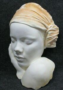 Marc-Sijan-Signed-Wall-Hanging-Sleeping-Woman-Sculpture