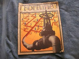 Fortune Magazine August 1940