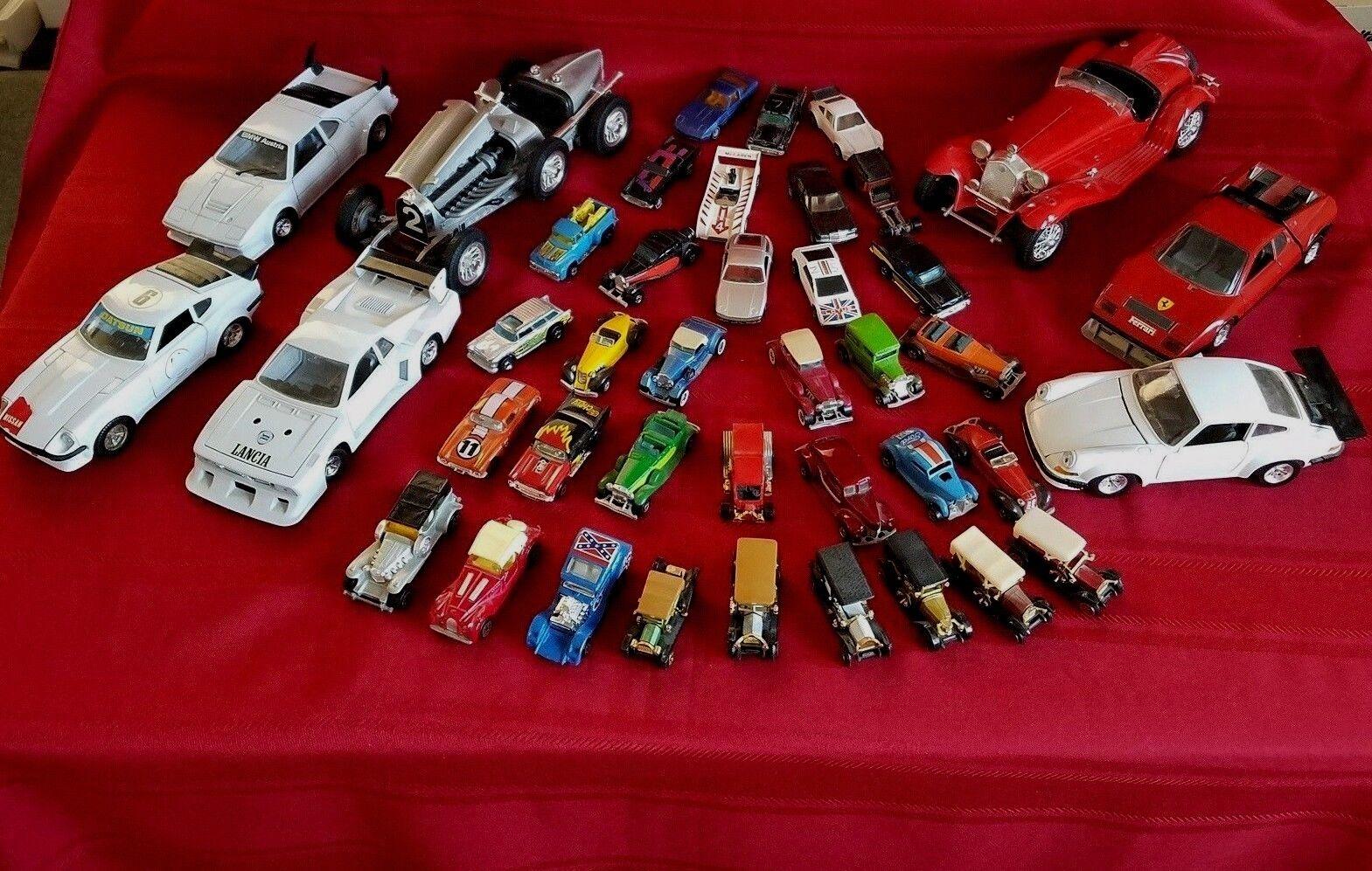 Vintage Toy Car Collection (Durago, Siku, Hot Wheels, + more) [41 cars]