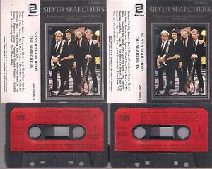 THE-SEARCHERS-Silver-Searchers-RARE-SPANISH-cassette-DOUBLE-SPAIN-ZAFIRO