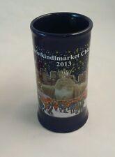 Christkindlmarket 2013 Chicago Daley Plaza Blue Tankard Shaped Mug