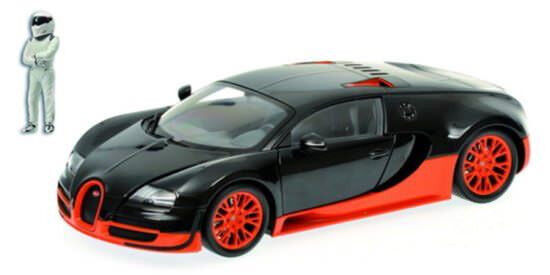 Minichamps 519101101 Bugatti veyron super sport sport sport 2011 (top Gear) 1 18 neuf emballage d'origine a15f72