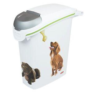 Image is loading CURVER-PetLife-Food-container-for-dog-10-kg-  sc 1 st  eBay & CURVER PetLife Food container for dog 10 kg/23 L.   eBay