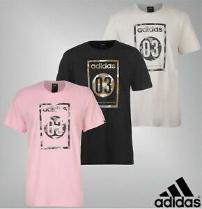 Mens Adidas Ribbed Crew Neck Top Short Sleeve 03 Camo T Shirt Sizes S-XXL