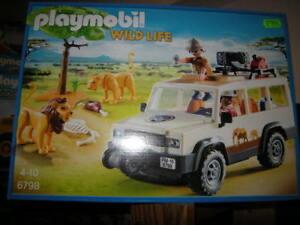 Playmobil 6798 OVP Safari-Geländewagen mit Seilwinde NEU
