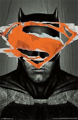 BATMAN VS SUPERMAN - TEASER MOVIE POSTER - 22x34 AFFLECK DC COMICS 14064