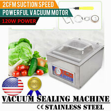 10 Vacuum Sealer Kitchen Food Chamber Tabletop Seal Packing Machine Commercial