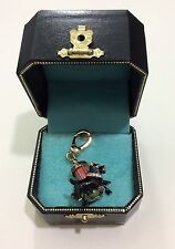NWT JUICY COUTURE YORKIES DOGS AT THE FIRE HYDRANT CHARM YJRU0376
