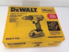 *NEW* DEWALT DCD771C2 CORDLESS DRILL/DRIVER KIT