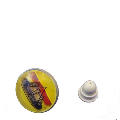 100 Farbetiketten Yopaint Ø38mm mit Verschluß ohne Alarm, Warensicherung Ink-Tag