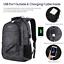 "miniature 3 - Matein Men's Camo 15.6"" Laptop Backpack Anti-Theft USB RFID Travel School Bag"