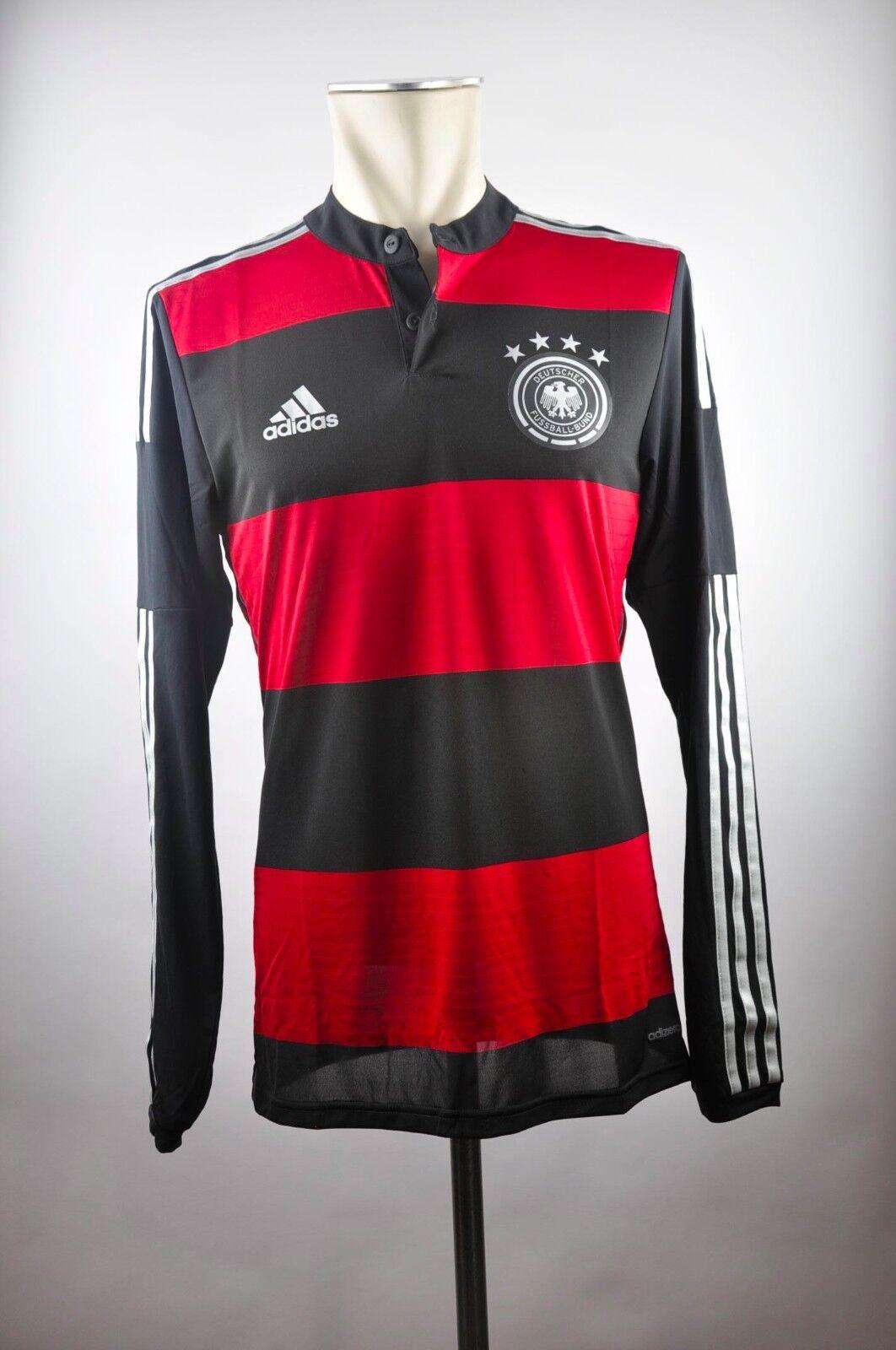 Deutschland DFB Away Trikot 2014 Gr. S 5   M 7 Adizero Weltmeisterschaft WM red