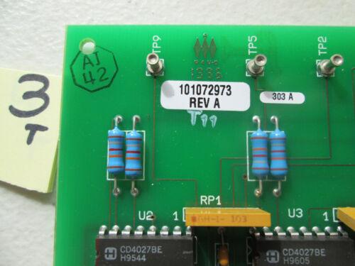 296 EXIDE INV GATE TIMING PLC MODULE 118302791A 101072973 REV A A13A8HT