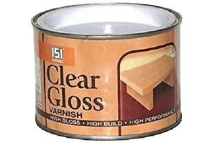 151-Clear-High-Gloss-Varnish-Top-Coat-Interior-Exterior-Wood-Metal-Paint-180ml