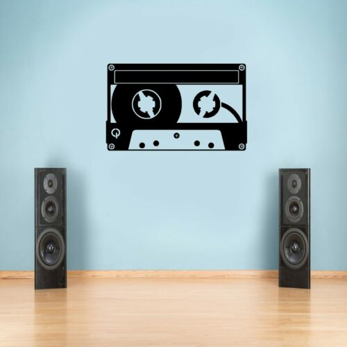 Retro Cassette Tape Wall Art Decal