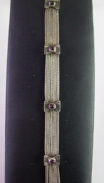 ausgefallenes Art Deco  Armband  -  925 Sterling Silber