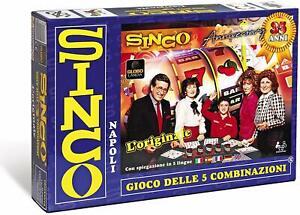 SINCO-GIOCO-DELLE-5-COMBINAZIONI-Nuova-Versione-35-Anniversario-Tombola-Gioco