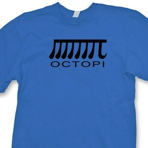 d3127307 Math Puns Sine Mens Short Sleeve Tee Shirt 0 Source · OCTOPI College Math  Humor T shirt PI Octopus Funny Geek Gag Gift Tee