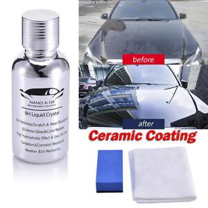 Nano-Car-Coating-Liquid-Glass-9H-Crystal-Hardness-Polish-High-Gloss-Bond-CeramNT