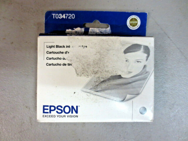 Epson 34 Light Black Ink Cartridge (T034720) Exp.2013