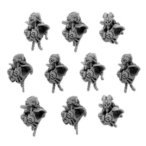 Wargame Exclusive WE-NC-002 10 Necrocyborg Female Warriors Conversion Set