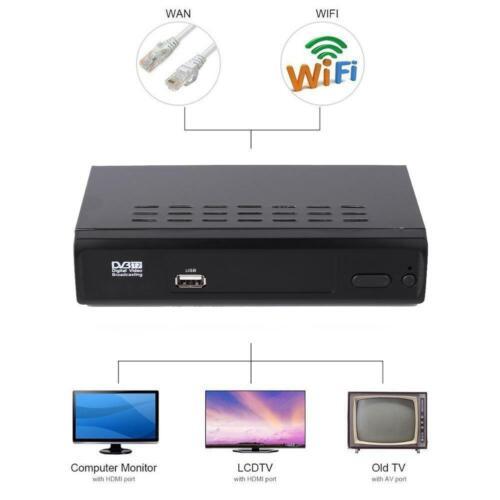 DVB-T//T2 TV Receiver 3D Digital Video Terrestrial HD 1080P Set-top Box EU C#P5