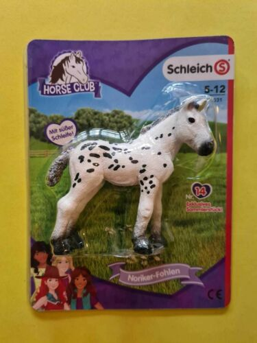 """Schleich  HORSE CLUB  Nr.14   /""""  Noriker Fohlen  /"""""""