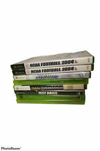 Microsoft Xbox, & Xbox 360 Game Lot (8 games) Bundle