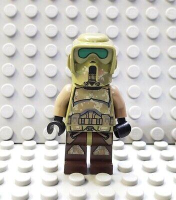 LEGO Star Wars Kashyyyk Trooper Minifigure 41st Elite from 75261 /& 75234
